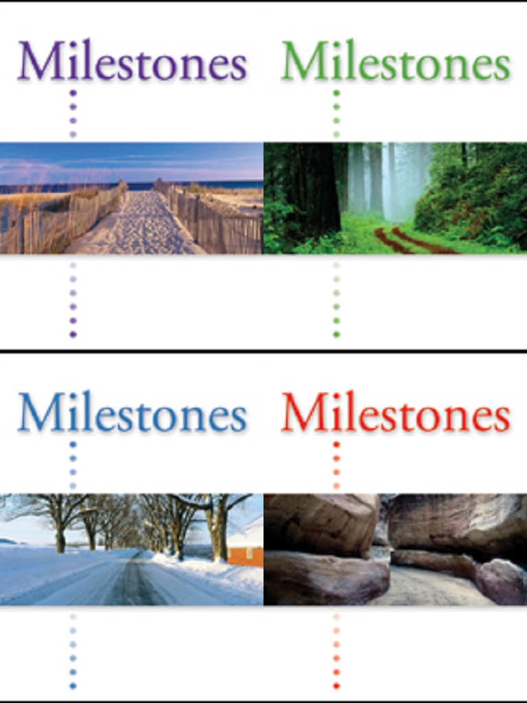 Milestones - Steps to student success!